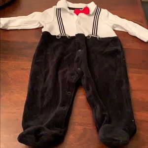 One piece baby outfit